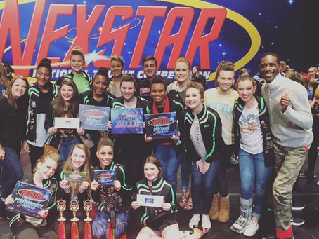 MOVE Company Wins Overall High Score of the Day at Nexstar Dance Comp!   