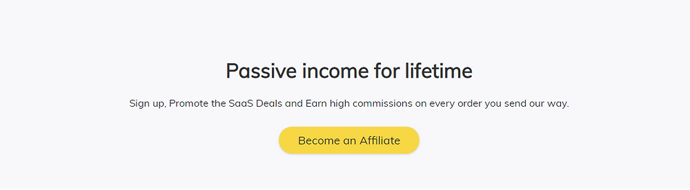 SaaS mantra Affiliate commission description