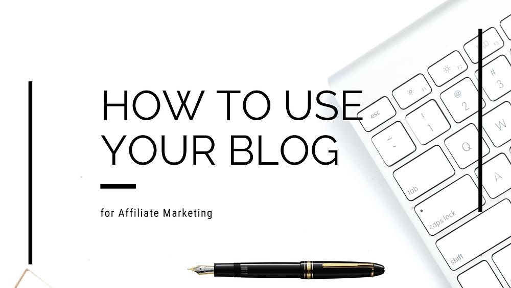 Blog affiliate marketing