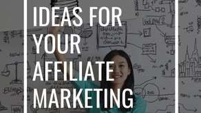 Creatives ideas for your Affiliate Marketing Project