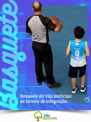 Basquete da Vila participa de torneio de integração