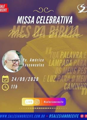 Live: missa celebrativa (mês da bíblia)