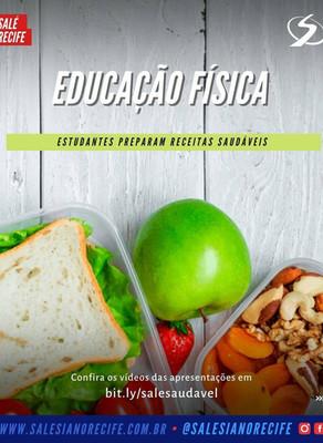 Alimentação Saudável: estudantes prepara pratos