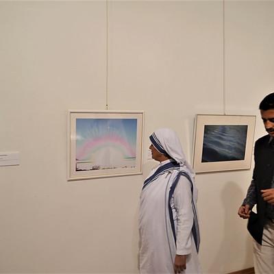 国際平和美術展・インド