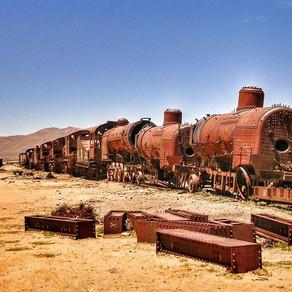 Il Cimitero dei Treni , Bolivia