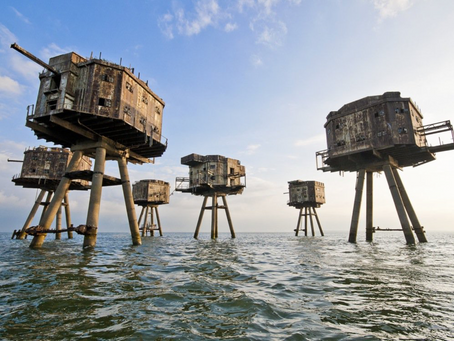 Fortezze Marittime Maunsell , Regno Unito