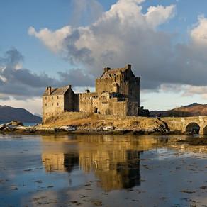 Castello di Eiledan , Scozia