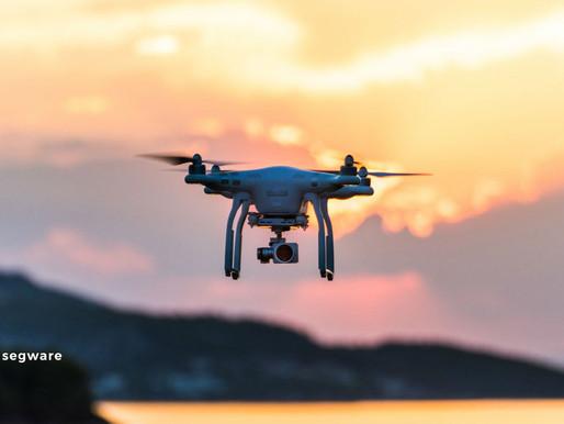 Drones para segurança e monitoramento