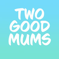 Two Good Mums Bright Gradient Square LOG