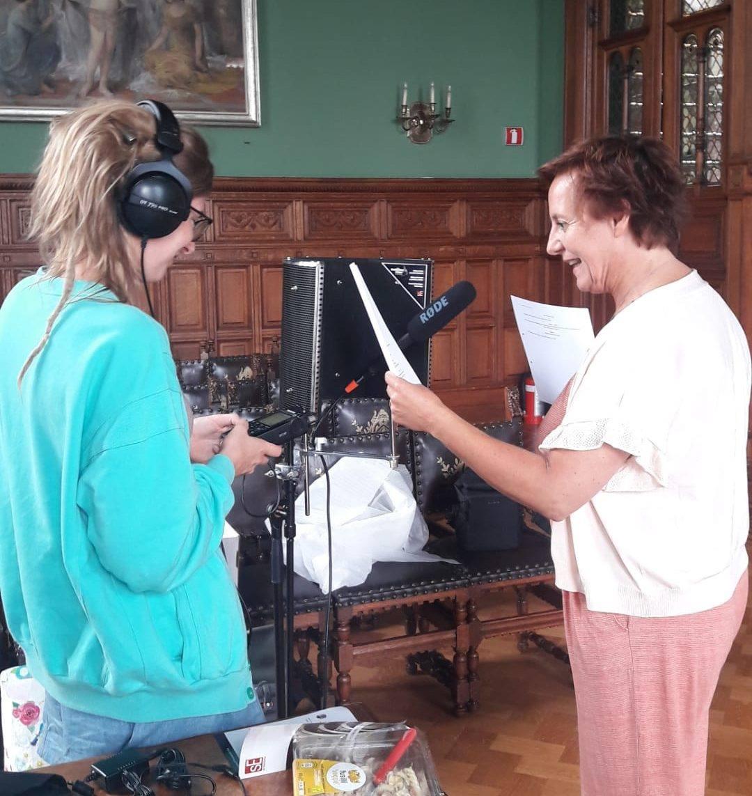 Opnames met Gerdy Swennen