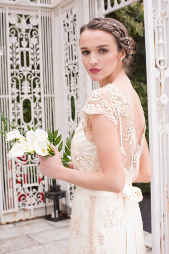 Niamh Finnstown House Long Dress Bridal Image.jpg