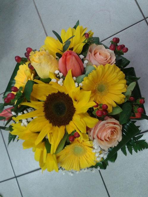 Bouquet misto per laurea