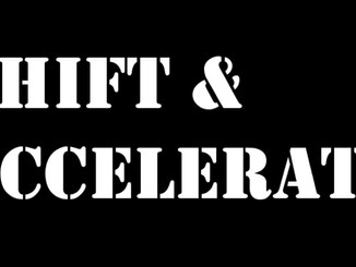 3 Ways To Shift & Accelerate