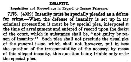 Insanity, Claude Grayson, De Van