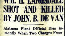 MURDER ON MONTAUK: The True Story of the Murder of Wm. H. Langsdale, Grandfather of Congressman Brad