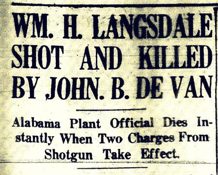 MURDER ON MONTAUK: The True Story of the Murder of Wm. H. Langsdale, Grandfather of Congressman Brad