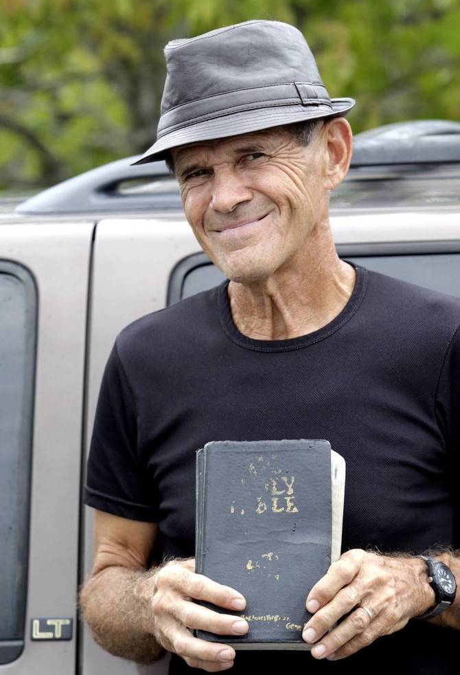Adventurous Local Mobile Street Preacher Gene Duffy has died. Arrested, and later threatened with de