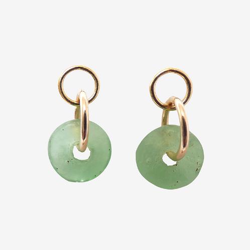 ahwenneɛ 15 gold filled earrings