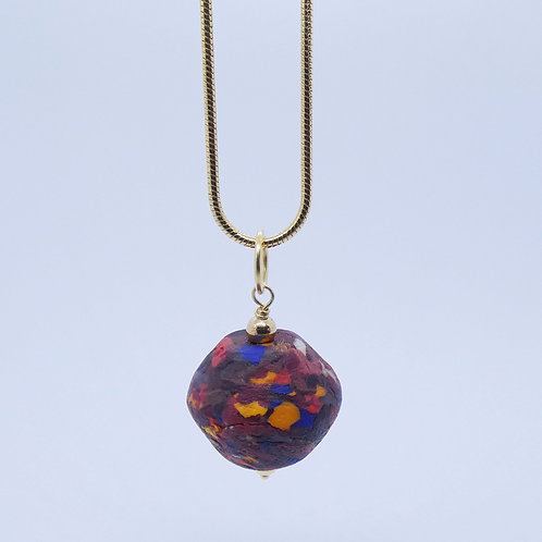 kɔnmuadeɛ 14 gold plated pendant