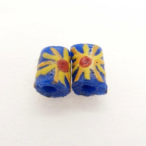 awia bruu 1 handmade recycled glass bead