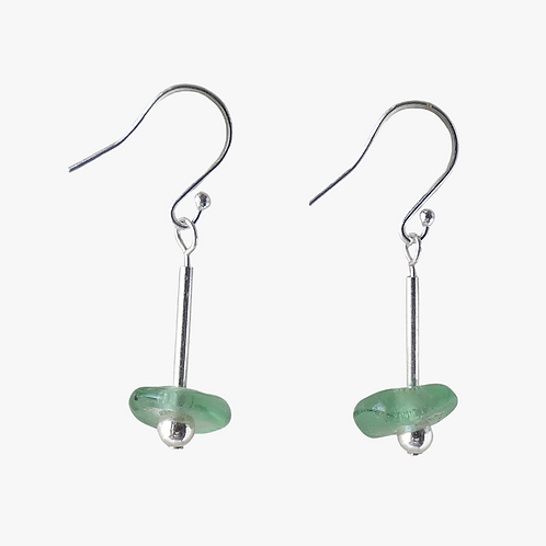 ahwenneɛ 10 sterling silver earrings