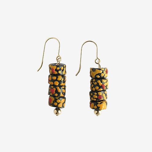 mmi3nsa gold filled earrings with small beads