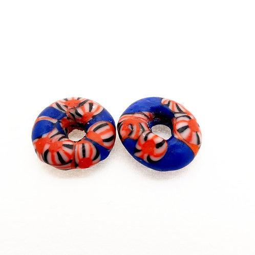 ahwenneɛ 6 handmade recycled glass bead