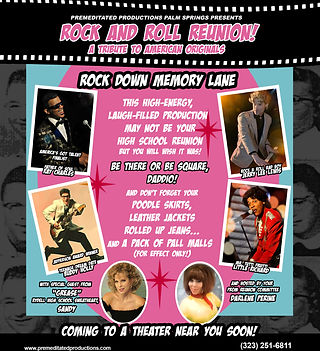 Premeditated Productions and Events Rock and Roll Reunion
