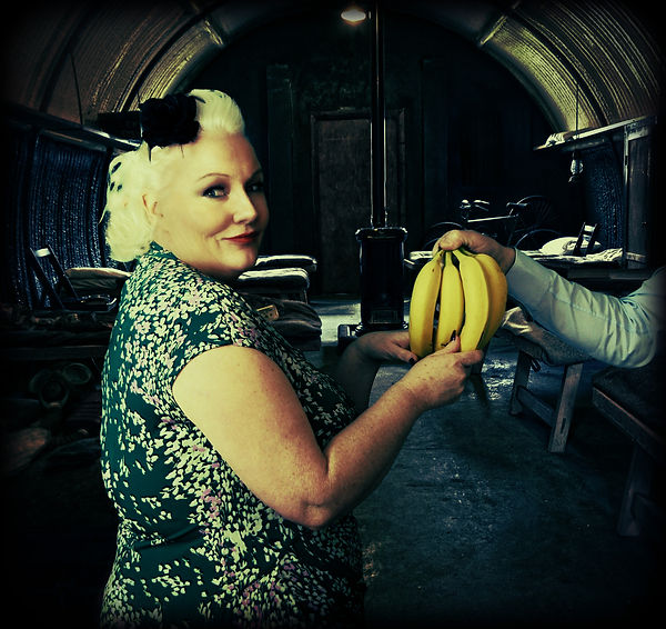 Doris was rather partial to a banana in the barracks.