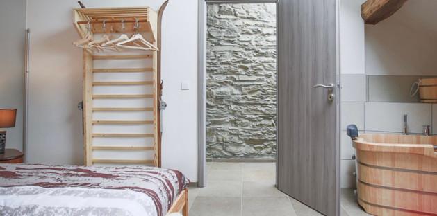 Chambre Montagne - 2 lits jumeaux
