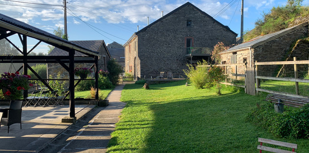 Jardin et Terrasse couverte