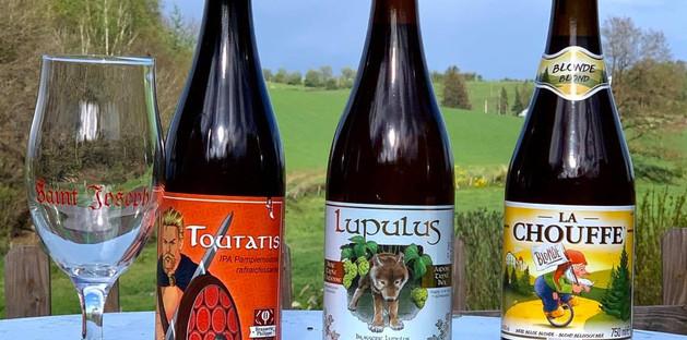Bières locales à découvrir