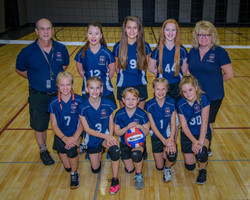2018 Indy Genesis MS Volleyball Team