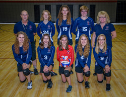 2018 Indy Genesis JV Volleyball Team