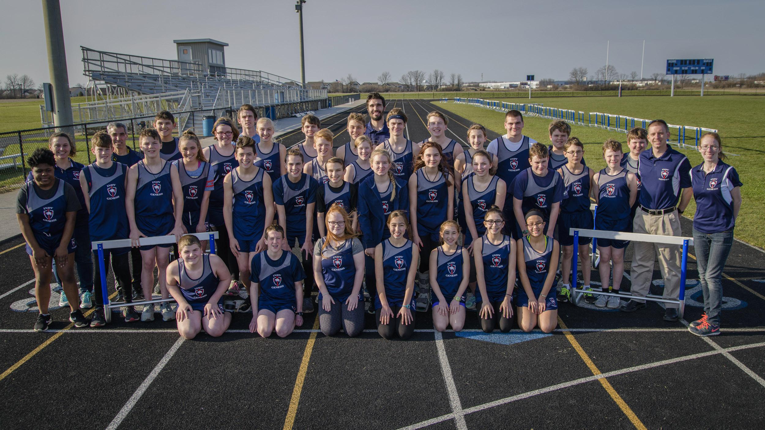 2018 Genesis Track Full Team