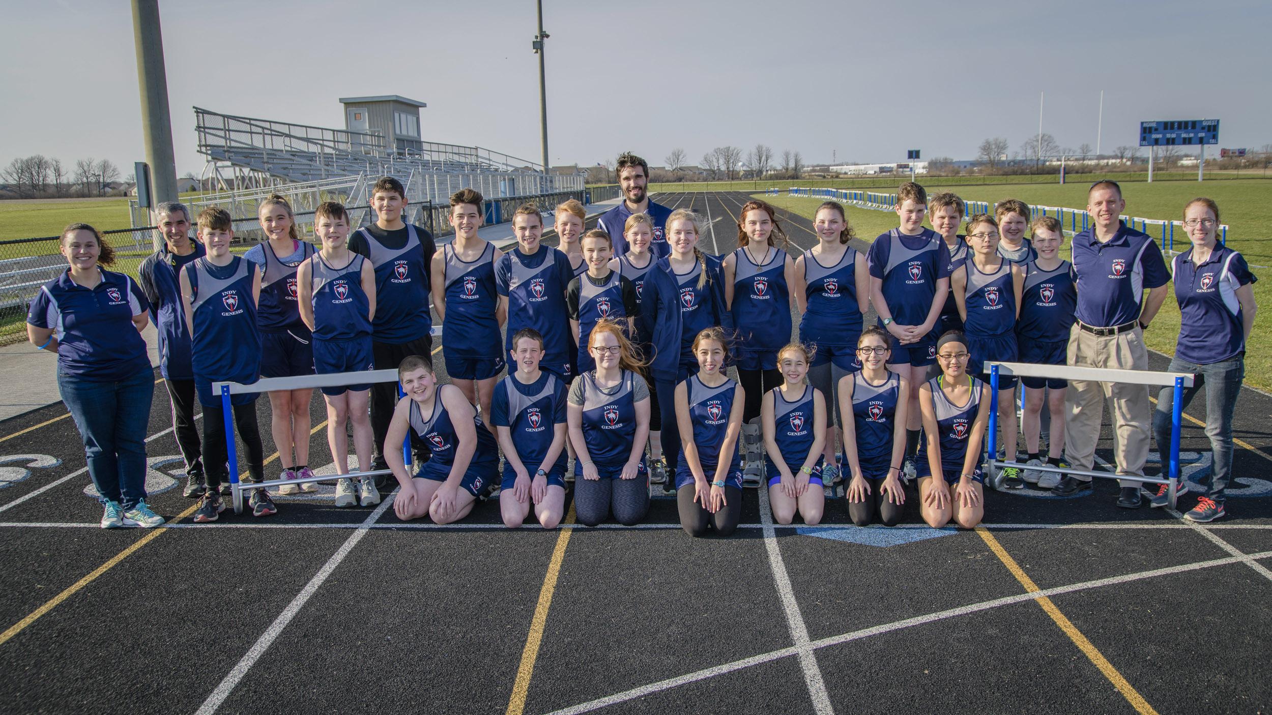 2018 Genesis Track Middle School