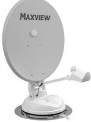 MAXVIEW NEXT GENERATION MANUAL CRANK-UP SATELLITE KIT 85CM