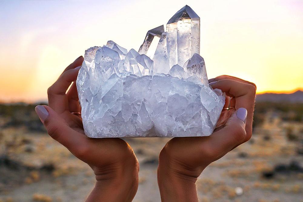 Cristaloterapia quartzo