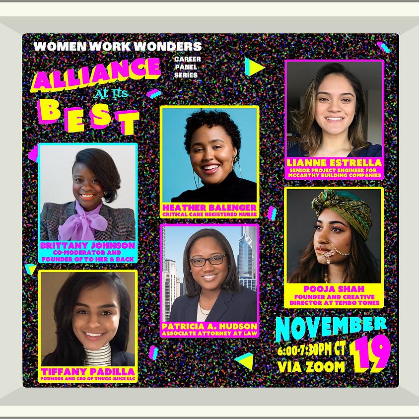 Women Work Wonders Alliance At Its Best