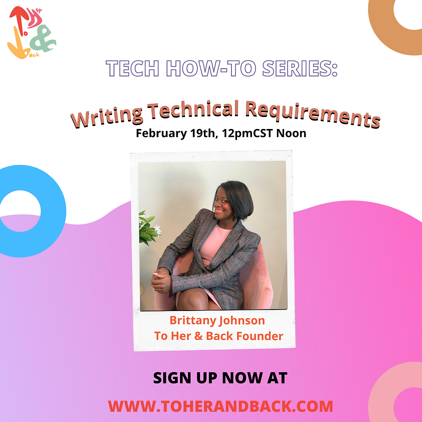 How to Series: Writing Technical Requirements