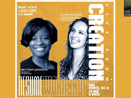 In Case You Missed Us: Checkout The Replay - Resume Workshop!