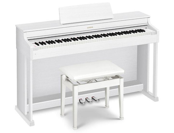 casio celviano digital piano ap470 white