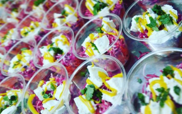 Salade healthy Banoffee Traiteur toulouse mariage food truck foodtruck Albi Montauban Castres Auch Tarn Gers