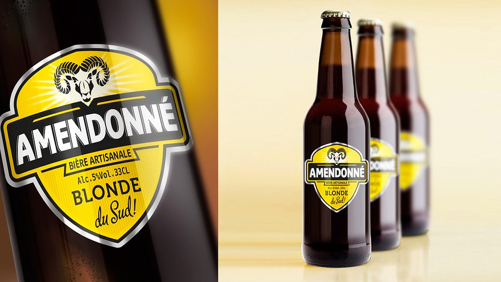 AMENDONNE Bière blonde locale