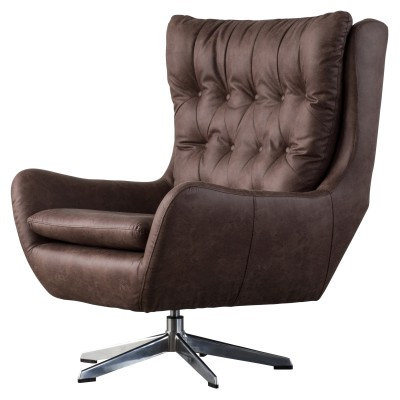Evian Chair in Brown