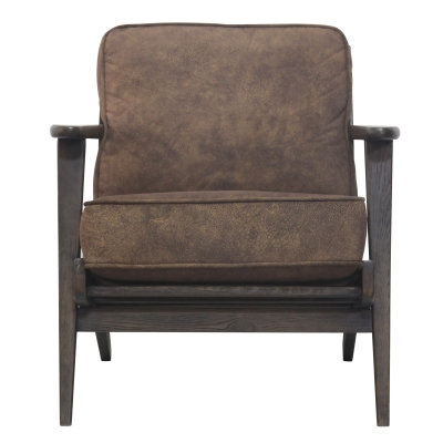 Rockridge Chair in Mocha Hide
