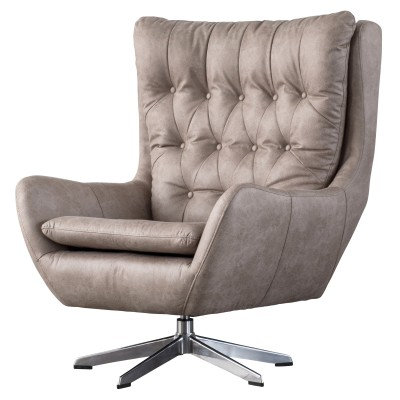 Evian Chair in Grey