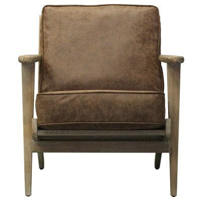 Rockridge Chair in Nubuck Chocolate