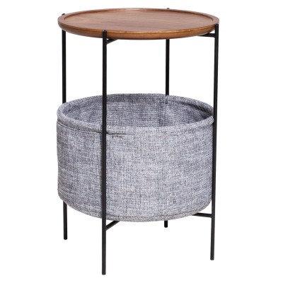 Khia Basket End Table