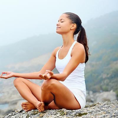 Zen - Woman Meditating